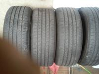I have 1 set 245/55R17 Michelin Primacy Max of tires