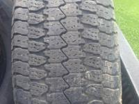 I have 3 set of tires and 1 set of rims  ($100)