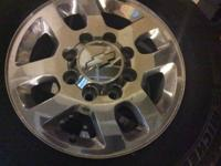Rims for sale came off a 2015 Duramax HD 2500 8 lugs,