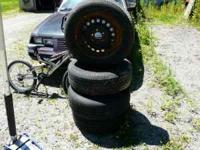 I have four Republic Ensign tires, they are 225/60/R16