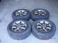 For sale Kumho tires with rims p235/60R16 75%plus left