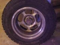 I have American racing rims with mickey Thompson's on