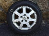 Toyo Garit KX, 225/55R16  99H, As New, With Cadillac