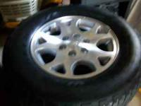 "16"" Goodyear Fortera 255-70-16 like new $600.00 Gm 6"