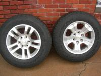 New Factory Take Off ---wheels/tires for Chevy