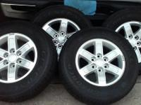Tires and Wheels 245-70-17 off of an 2012 GMC Sierra