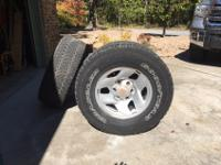 4 Stock wheels from a 2003 Tacoma with Goodyear