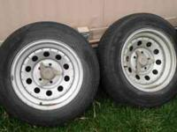 I have a set of 4, nice wheels and tires,size