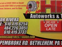 LOOK ANY TIRE SIZE $25 CALL TODAY WE ALSO MOUNT AND