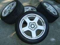 WHEELS SET OF 4. CORVETTE 1999, USED BUT STILL IN GOOD
