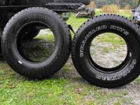 I have like new two tires for sale 1 BF Goodrich Rugged