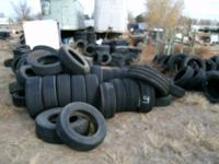 Hi I have many tires for sale no sets of 4 mostly
