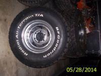 4 BFGoodrich Radial All-Terrain T/A Tires Rim 15x10