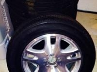 ***Like New***ALL SEASON- Set of 4 Mercedes OEM Wheels