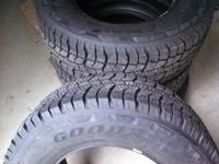 Set of 4 tires with less than 50 miles.  LT265/70R17