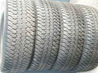 TIRES MATCHING SET 265 70 17 $160 INSTALLED ALL 4 WITH