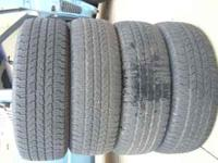 $180 FOR ALL 4 TIRES INSTALLED CASH ONLY $150 FOR ALL 4