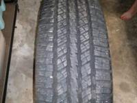 For Sale:.  I have two (2) sets of tires for sale.