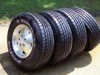 Set of Tires & Rims (5 hole) --Michelin X Radial
