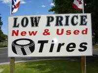 "USED TIRES $25* NEW TIRES  14""TIRES FROM$38 15""TIRES"