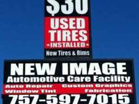 TIRES TIRES TIRES Best Prices on New & Used Tires FREE