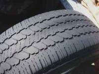 Two used tires for sale. General All Weather in GC.