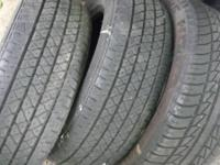 3 tires (P195/60/R15)  very good condition  -- all