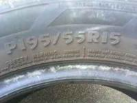 I Have a pair of P195/55R15 with great tread left on