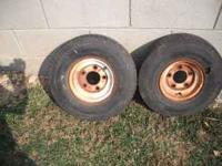 i have two small tires and wheels.they are 5.70 tires