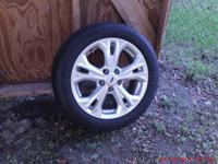 17' ford wheels& 225/50R17 michelin energy tires, fits