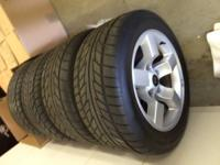 TIRES & WHEELS from 2001 Ford Lightning - ONLY 2000