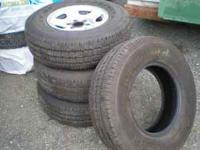 Goodyear - Wrangler ST - P245 / 75 R16 Came off a 2005