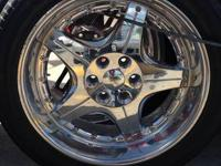 Driv rims with tires, used, all 4 rims and tires for