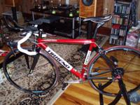 Up for sale tirreno razza-1000 road bike in very good
