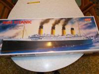 RMS Titantic model kit, engineered from original