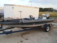 I have a Tidecraft fishing boat for sale. It is a 16'