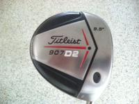 Great condition Titleist 907 D2 driver, 9.5 Stiff