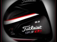 Titleist 913D(3) Driver:. Like brand-new! Only been
