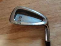 Titleist DCI Gold Iron Set 3-PW R-H Steel Stiff Used