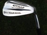 Titleist Tour Model Irons, 5-PW, really nice condition.