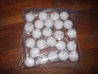 25 GOLF BALLS MOSTLY PRO V 1 SOME IN BETTER SHAPE THAN
