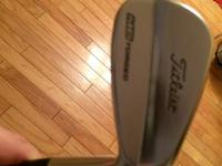 I have a good set of Titleist MB 712 created irons for