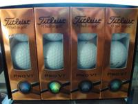 Set of new golf balls. The best!!!!! Packaged; Number 1
