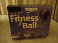TKO Fitness Ball 75cm Brand new in box with all