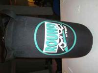 """TKO """"Round One"""" kick bag Like new 25lb with hook. $50"""