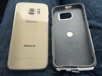 Tmobile Gold galaxy s6 32gb. No scratches or cracks.