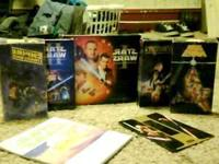 I own 5vhs starWars Movies and almost all of the