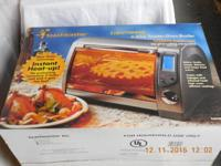 Brand new Toastmaster TLWTOB6 lightwave 6-slice