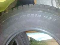 I HAVE A BRAND NEW FULL SET OF WINTER TIRES P195/75/R14