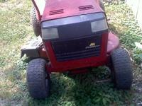 Needs battery, runs good, seat isn't pretty but is.